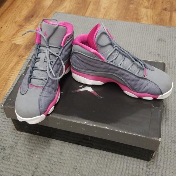 newest collection c2b87 2a38c Jordan Retro 13s Pink & Gray